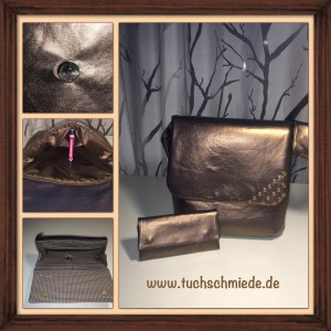 Leder_bronze_Set